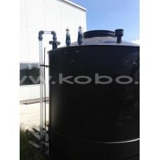 Резервоар  от полиетилен -за железен трихлорид